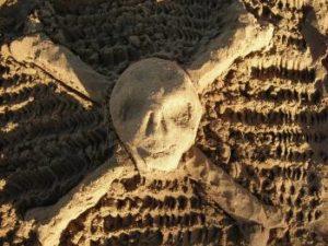Sand Castle Skull