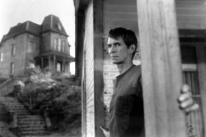 Promotional photo for Hitchcock's Psycho