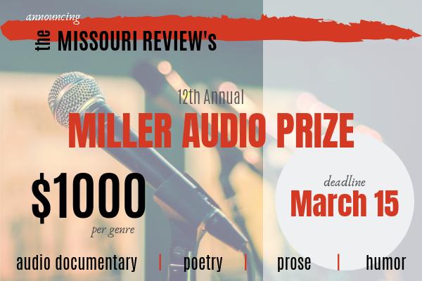 TMR Miller Audio Prize 2019_Middle Sidebar