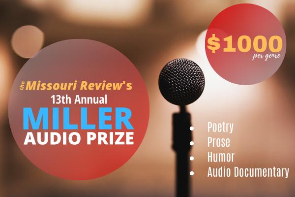 Miller Audio Prize 2020_Sidebar Ad