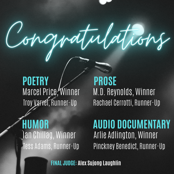 Congratulations to the Winners and Runners-Up of the 2020 Miller Audio Prize
