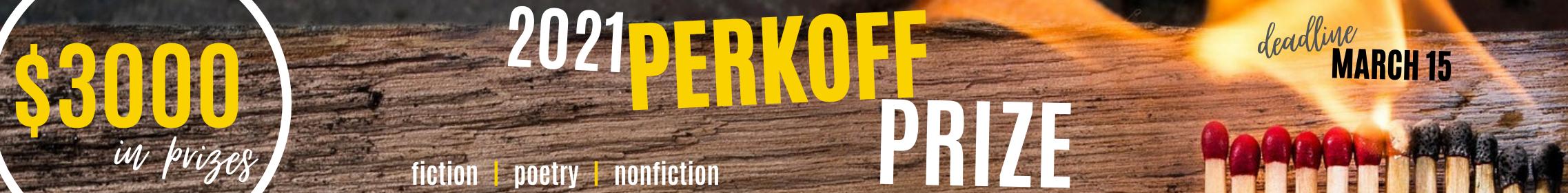 2021 Perkhoff Prize Header