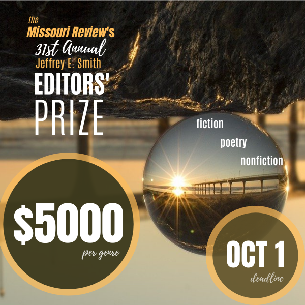How does it feel to win the Jeffrey E. Smith Editors' Prize?